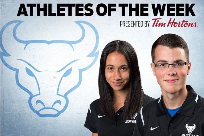 Hecico and Covell Named Athletes Of The Week