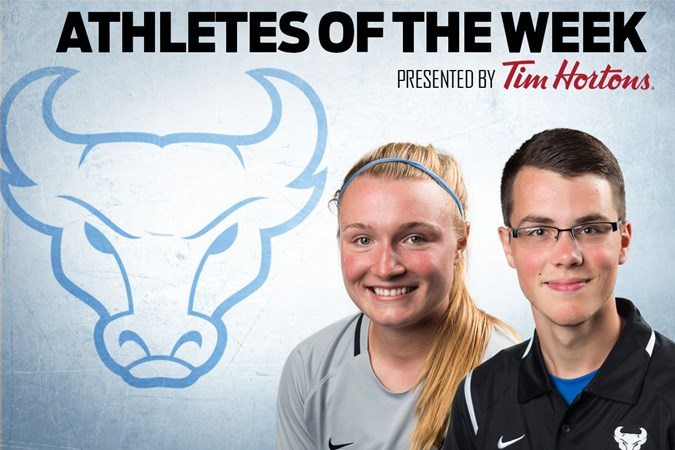 Covell and Kelly Named Athletes Of The Week